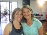 Tina Miser and Carrie Gallahan, co-owners of Joyful Yoga in Peru, Indiana