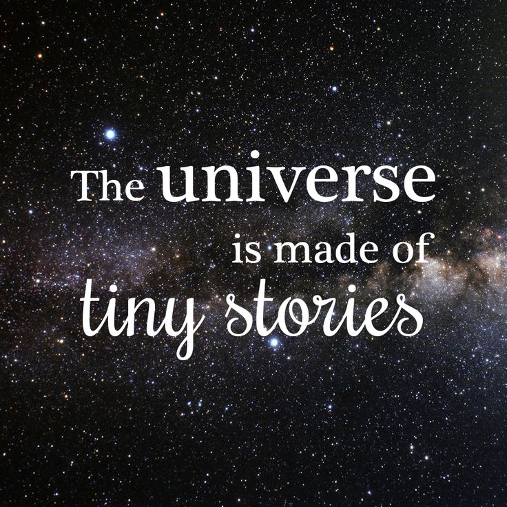 Image result for a universe of stories